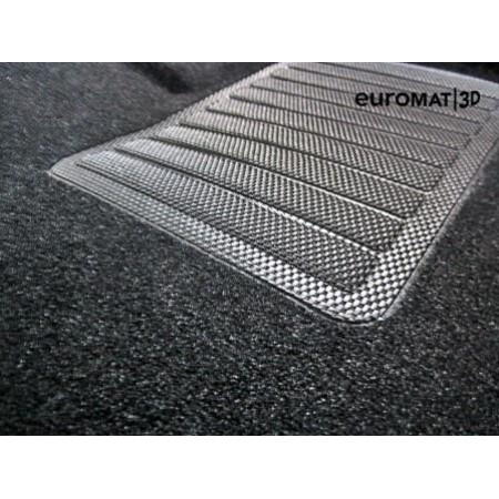 Текстильные 3D Коврики Euromat В Салон Для TOYOTA Corolla (2019-) № EMC3D-005106
