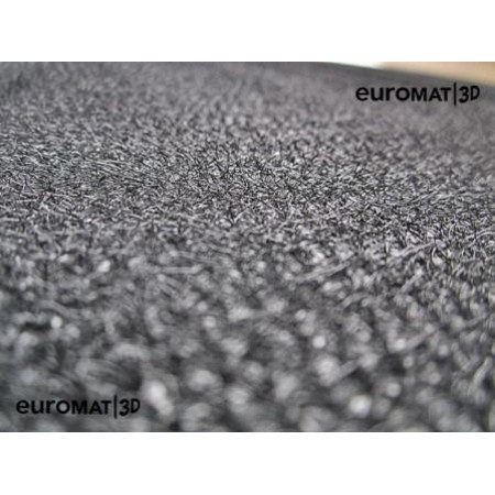 Текстильные 3D коврики Euromat3D Business в салон для BMW X5 (F-15) (2015-) № EMC3D-001215G Серые