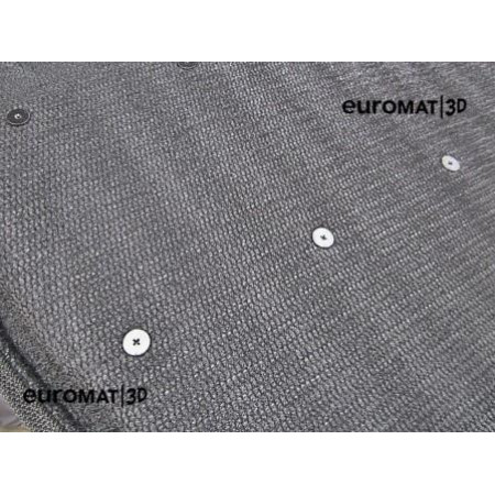 Текстильные 3D коврики Euromat в салон для OPEL Mokka (2012-) № EM3D-003815