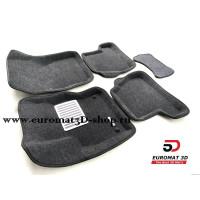 Текстильные 3D Коврики Euromat В Салон Для FORD Focus 3 (2011-) № EM3D-002207G Серые